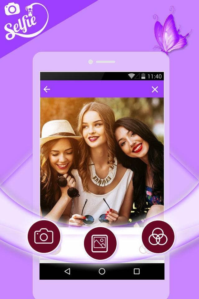 DSLR Selfie - Selfie Camera,beauty Cam,photo edit for