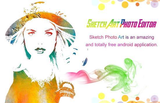 Pencil Sketch Photo Editor poster