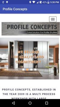 Profile Concepts poster