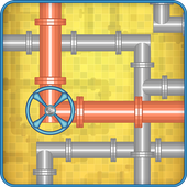 Plumber Pipes Logic Puzzle icon