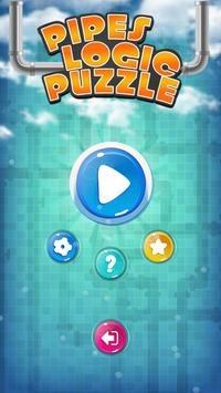 Plumber Pipes Logic Puzzle poster