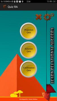 DB Quiz poster