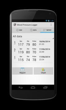 Blood Pressure Logger screenshot 2
