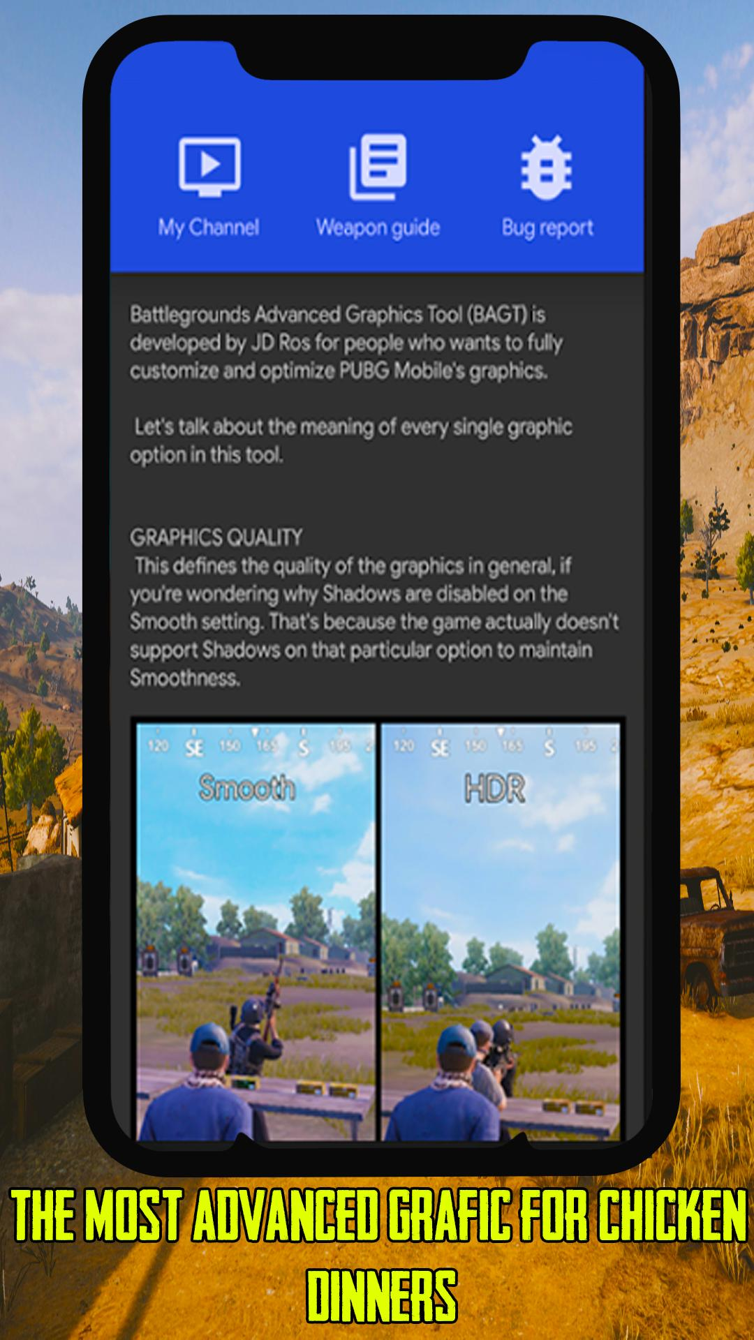 BAGT - BattleGrounds Graphics Tools Pro for Android - APK