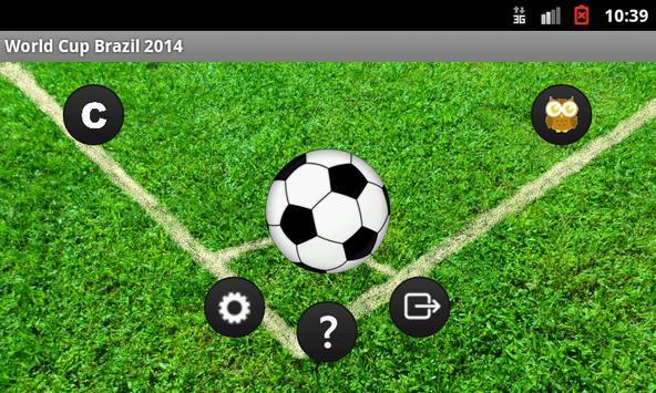 Played World Cup 2014 apk screenshot