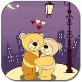 Teddy romance icon