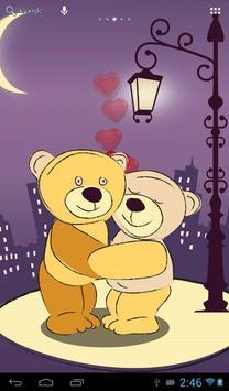 Teddy romance poster