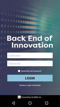 Back End of Innovation poster