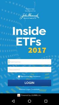 Inside ETFs Europe poster