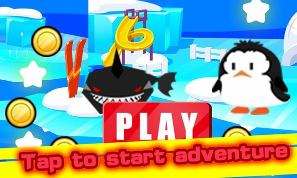 Penguin Flying Jump Adventure apk screenshot