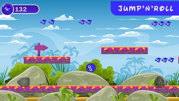 Blue Ball 4 screenshot 1