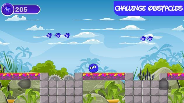Blue Ball 4 screenshot 2
