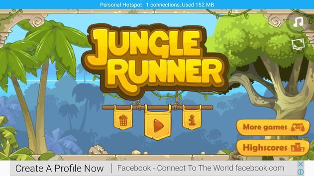 Jungle Runner apk screenshot
