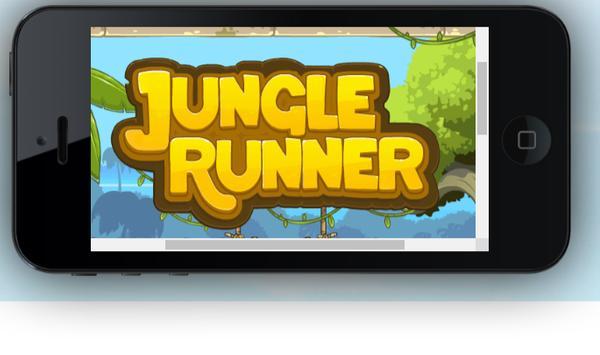 Jungle Runner Game poster
