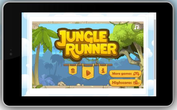 Jungle Runner Game apk screenshot