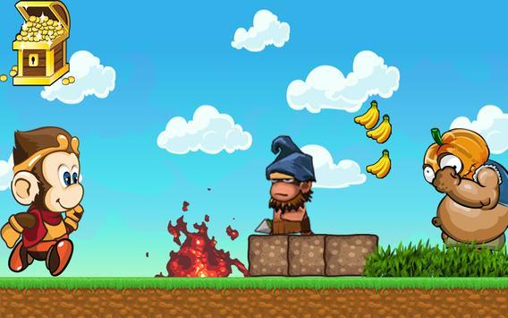 Monkey  bloon run screenshot 1