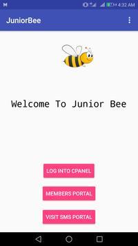 JuniorBee Web Hosting poster