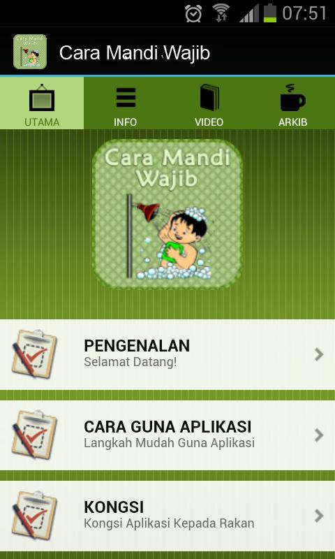 Cara Mandi Wajib Yang Betul For Android Apk Download