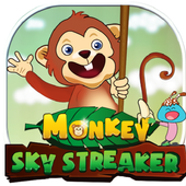 Monkey Sky - love banana icon