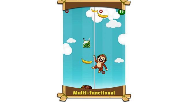 Monkey Sky - love banana apk screenshot
