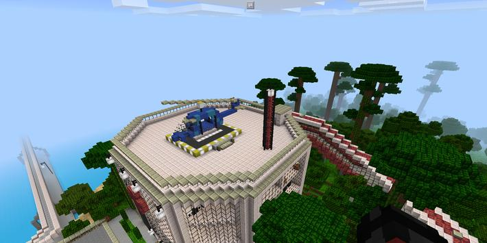 Jurassic World Maps for Minecraft PE apk screenshot