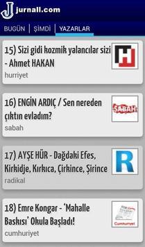 Jurnall Gündem-Haber-Yazarlar apk screenshot