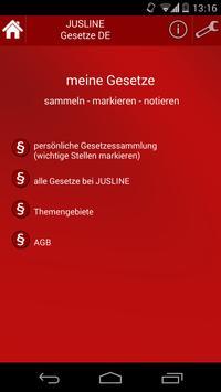 Gesetze Deutschland poster