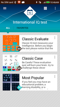IQ Test International for Android - APK Download