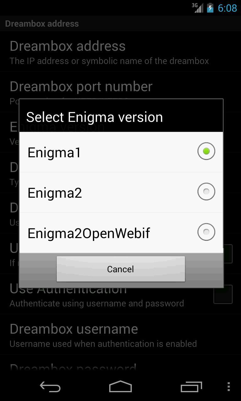 Enigma2 webif ipk