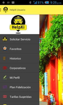Helpxi Usuario - Taxi App screenshot 2