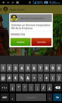 Helpxi Usuario - Taxi App screenshot 7