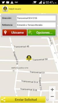 Helpxi Usuario - Taxi App screenshot 4