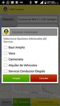 Helpxi Usuario - Taxi App screenshot 5