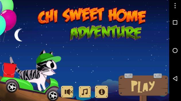 chii sweet home adventure game poster