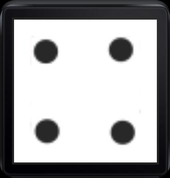 Roll a dice(Android wear) screenshot 2