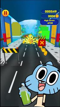Super Gamball Runner Adventure apk screenshot