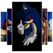 Sonic Exe Wallpaper HD icon