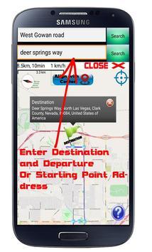 GPS Navigation Optimized route screenshot 1