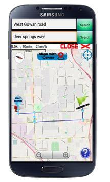 GPS Navigation Optimized route screenshot 2
