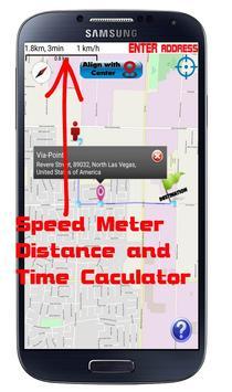 GPS Navigation Optimized route screenshot 3