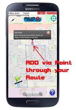 GPS Navigation Optimized route screenshot 4