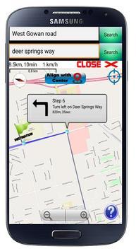 GPS Navigation Optimized route screenshot 5