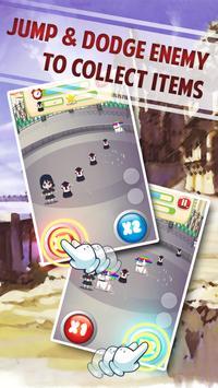 Magical Girl Jumping Running screenshot 1