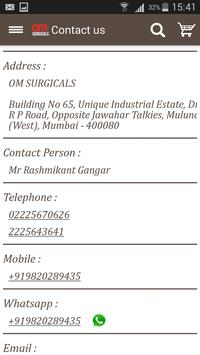 OM SURGICALS screenshot 9
