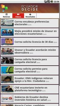 Ecuador Decide apk screenshot