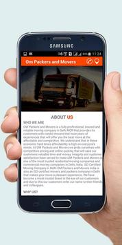Om Packers And Movers India screenshot 3
