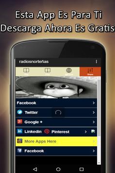 Radios Norteñas screenshot 2