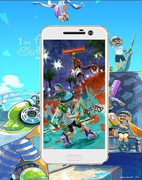 hd Splatoon cartoon  Wallpaper screenshot 1