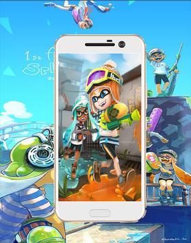 hd Splatoon cartoon  Wallpaper screenshot 3
