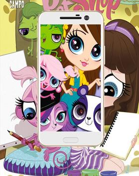 HD LPS The Toys  Wallpaper poster